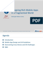 Designing Rich Mobile Apps in a Fragmented World