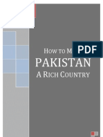 How to Make Pakistan A Rich Country