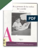 Ferreiro, E. Pasado y Presente de Los Verbos...