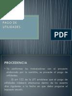 PAGO DE UTILIDADES