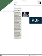Il professor Danese premiato a Naxos - Il Corriere Adriatico del 13 settembre 2021
