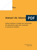 L013LABM13F-P Guidelines Manuel-laboratoire MSF 2018