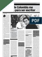 Entrevista a Juan Gabriel Vásquez, ganador del Premio Alfaguara de Novela 2011