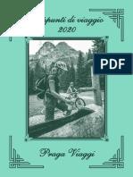 Appunti Viaggio 2020