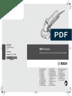 Manual radial Bosch GWS 660 y 780C