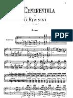 G ROSSINI - La Cenerentola - Vocal Score