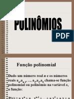 POLINÔMIOS - 3º ANO
