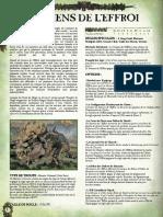 WFB8 - Saurien de l'Effroi Unité Rare Pour Armé Hommes-Lézards [FanMade by Vlast de Naggarond]