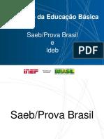 Apresentação SAEB INEP