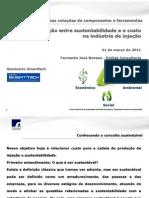 Seminário Polilab_Smarttech relação sustentabilidade e injeção
