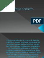 Il testo narrativo (1)