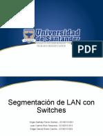 Segmentación de LAN con Switches