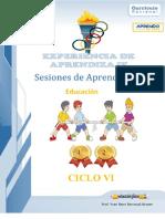 Experiencia de aprendizaje Nº 5 Educación física 1º y 2º
