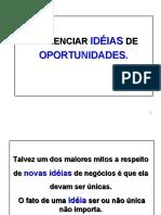 ideias oportunidades