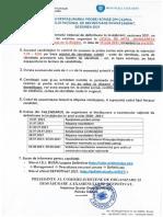 Organizarea Si Desfasurarea Examenului de Definitivat 2021