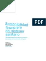 SOSTENIBILIDAD FINANCIERA DEL SISTEMA SANITARIO ESPAÑOL