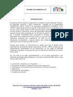 INFORME MENSUAL No. 03 SOCIO AMBIENTAL
