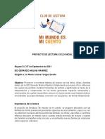 PROYECTO DE LECTURA CICLO INICIAL