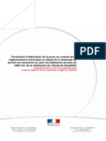 PCMI14-1 Attestation de Prise en Compte de La RT2012 - Projet Mr MARTINEZ Et Mlle BRACQ
