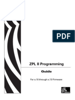Zebra ZPL Programming language