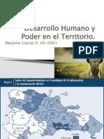 Desarrollo Humano y Poder en El Territorio