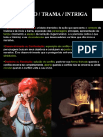 ENREDO ROTEIRO E PERSONAGENS