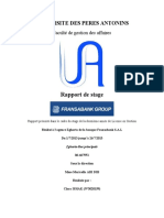Rapport de Stage Mme Maricella