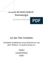 Unidade 2 - Texto Teatral - Dramaturgia