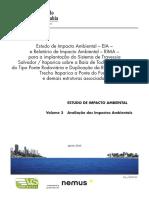 01. EIA Volume 3 Avaliação Dos Impactos Ambientais