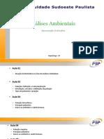 Aula - Atuação do Biomédico na Análises Ambientais