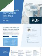 Temario Curso Planificiacion BIM 4D Synchro Pro 2020