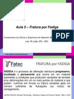 Aula 05 - Fratura por Fadiga