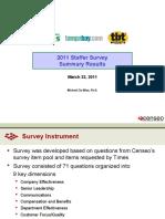 St. Petersburg Times' Staffer Survey