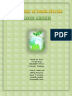 Team 3 - USF Going Green White Paper Project[1] PDF