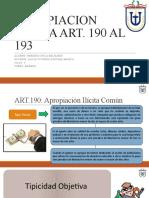 Diapositivas Apropiacion Ilicita (2) Art 190 Al 193