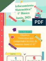 Reforzamiento de Matemática, 17 de junio