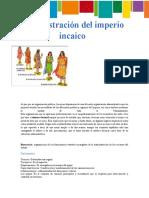 Administracion Del Imperio Incaico