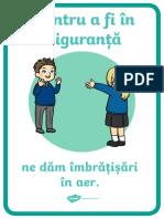 Avem Grija, Dam Imbratisari in Aer - Plansa