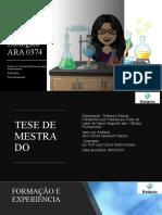 Aulas 1 e 2 - Quimica e Macroscopia
