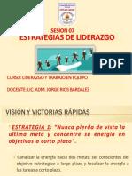SEM 07 ESTRATEGIAS PARA EL LIDERAZGO