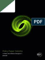 Policy Paper Deloitte Maroc Juillet 2021 Fr