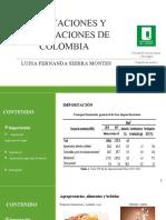 Importación y Exportación de Colombia
