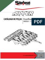 Arado Ripper Catalogo Pecas Sao Jose