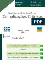 Síndrome intestino curto -  Complicações Crônicas - parte 2