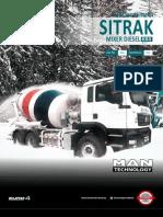 Mixer Sitrak 6x4 - 8m3