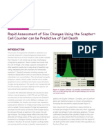 Rapid Assessment of Size Changes Using Scepter Cell Counter - EMD Millipore