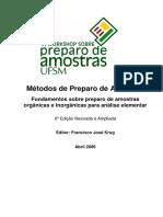 Apostila Preparo de Amostras [Francisco José Krug ] 6 edição (1)