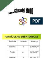 1. Estructura atómica