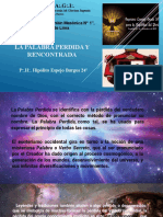 18° La Palabra perdida y encontrada - P.·. H.·. Hipólito Espejo Burgos 24°