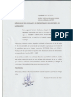 Solicito se de cuenta Sobre el informe solicitado a SUNAT